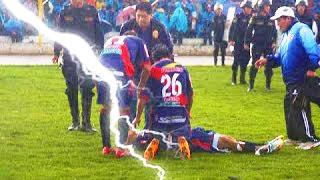 Top 3 Rayos Que Cayeron Durante Partidos De Fútbol