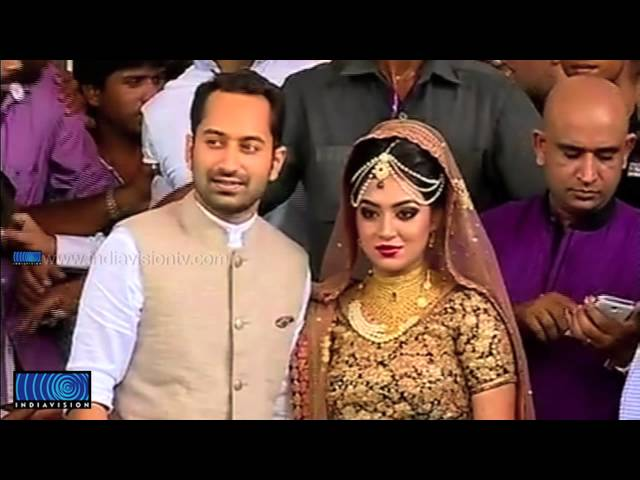 Fahad Faasil-Nazriya wedding ceremony
