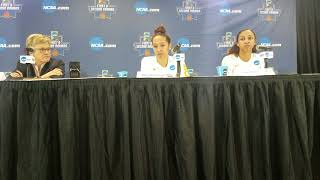 Tennessee Lady Vols postgame (NCAA 2nd Rd vs. Oregon St)