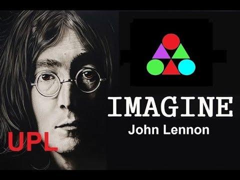Imagine John Lennon Lyrics Subtitles UPL