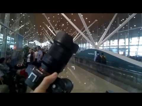 Taking photos in the Airport in Kuala Lumpur 20 minutes ago