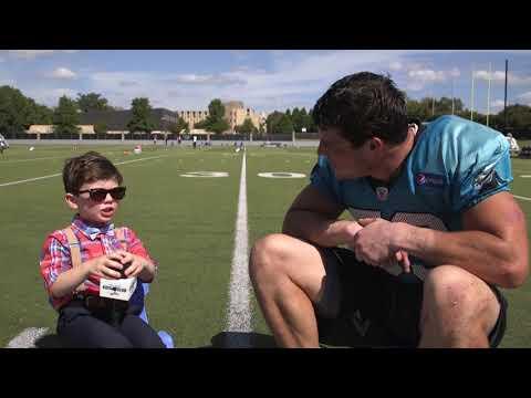 Kids Club Reporter: Luke Kuechly
