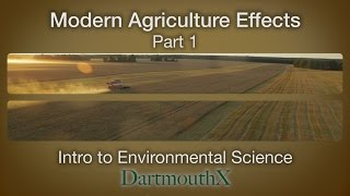 Modern Agriculture Effects Part 1