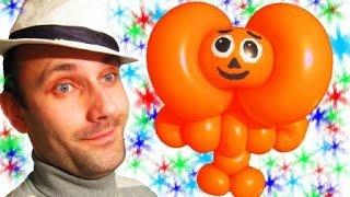 Чебурашка из шарика шдм аэродизайн ★ Cheburashka made out of a balloon