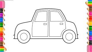 Drawing Vehicles | interesting Coloring pages for Baby | Coloring Cars for kids
