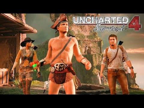 Uncharted 4: A Thief's End - Survival Mode Co-op Walkthrough @ 1080p (60ᶠᵖˢ) HD ✔