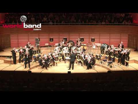 Black Dyke Band: Black Dyke 007 Suite (James Bond) - Brass-Gala 2017 (12/13)