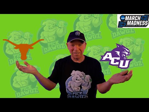 Texas vs Abilene Christian 3/20/21 Free College Basketball Pick and Prediction NCAA Tournament