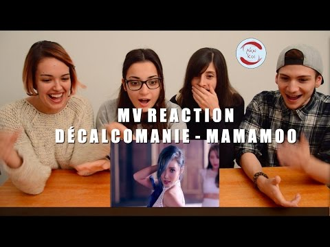 Thumbnail: NON/K-pop fan react to MAMAMOO (마마무) - Décalcomanie (데칼코마니) | AkaiKoi