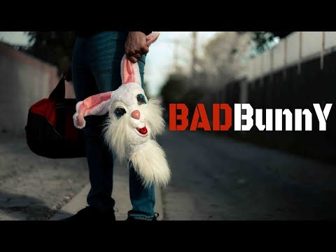 Badbunny (short Film)  Short Student Film With One Actor.