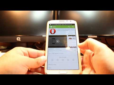 Opera mini web Browser for Android phone