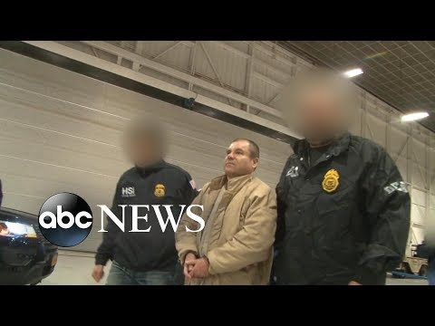 Joaquin 'El Chapo' Guzman convicted on 10 federal charges
