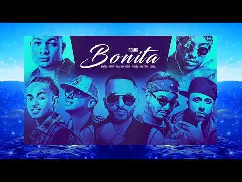J Balvin, Jowell & Randy - Bonita (Remix) ft. Nicky Jam, Wisin, Yandel, Ozuna (Audio)