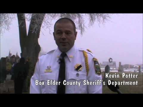 Sheriff Lynn Yeates' funeral Jan. 10, 2015