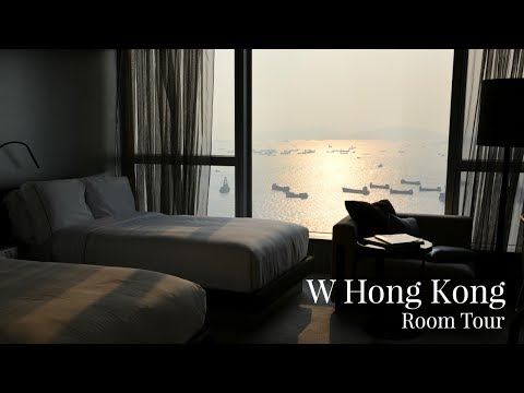 W Hong Kong Room Tour | Kowloon Five Star Hotel | Lux Life