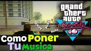 ¡COMO PONER LA MUSICA QUE QUIERAS EN TU GTA VICE CITY DESDE ANDROID! | + Nueva Intro | Lalito 09
