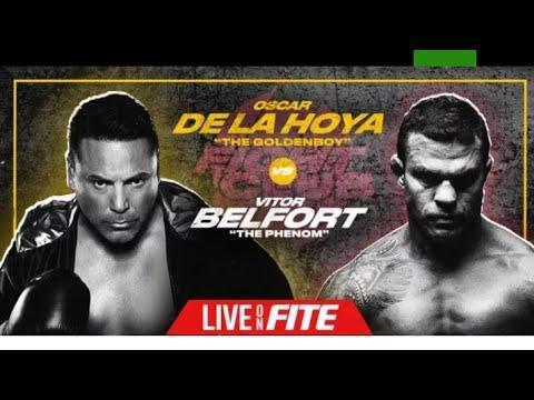 Boxing Oscar De La Hoya Vs Vitor Belfort Will Be A Real Boxing Match,By Eric Pangilinan - Vlog