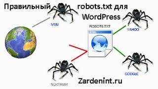 видео Правильный robots.txt для Wordpress