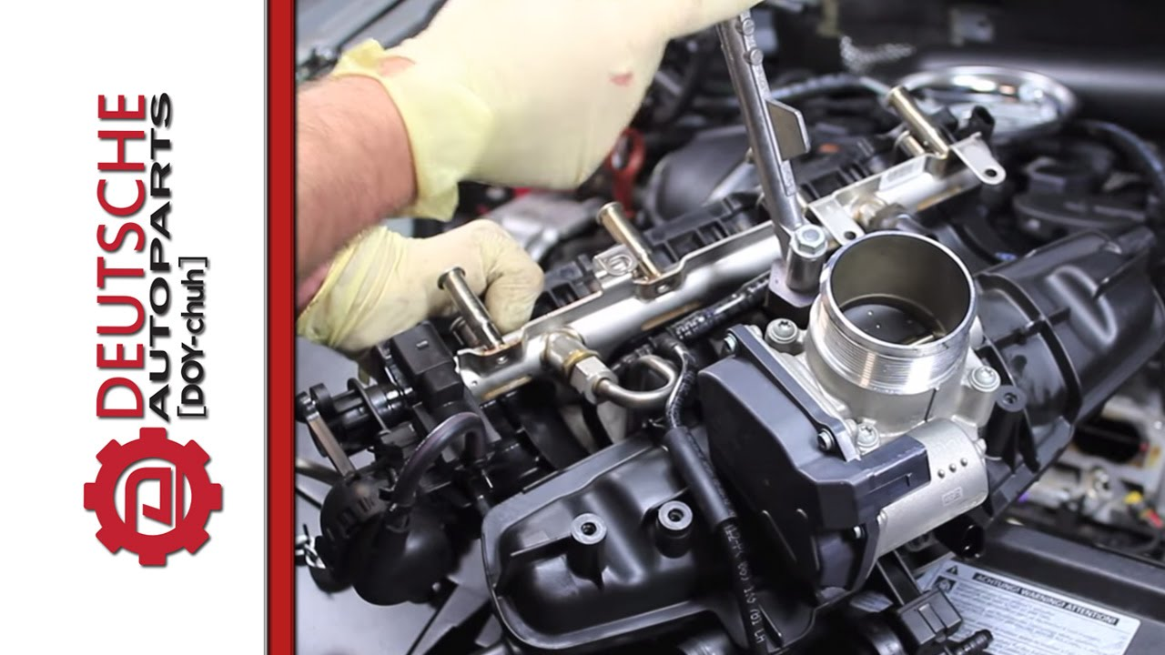medium resolution of intake manifold for vw and audi 2 0t tsi diy how to replacement youtube