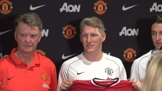 Manchester United in Seattle: Bastian Schweinsteiger, Morgan Schneiderlin, Matteo Darmian unveiled