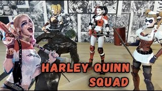 Harley Quinn Action Figures - Отряд Харли Квинн на ОДНОГО