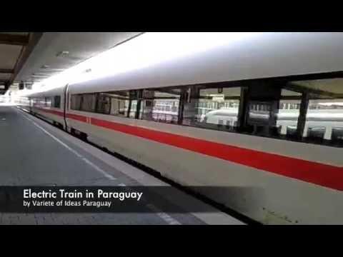 Tren electrico de alta velocidad en Paraguay