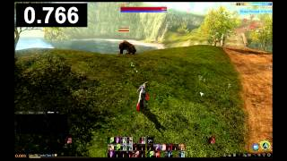 Archeage 10 vs 250 latency