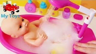 Toy Color Learnig Baby bubble bath time water squirting bathtub shower potty change baby toy their