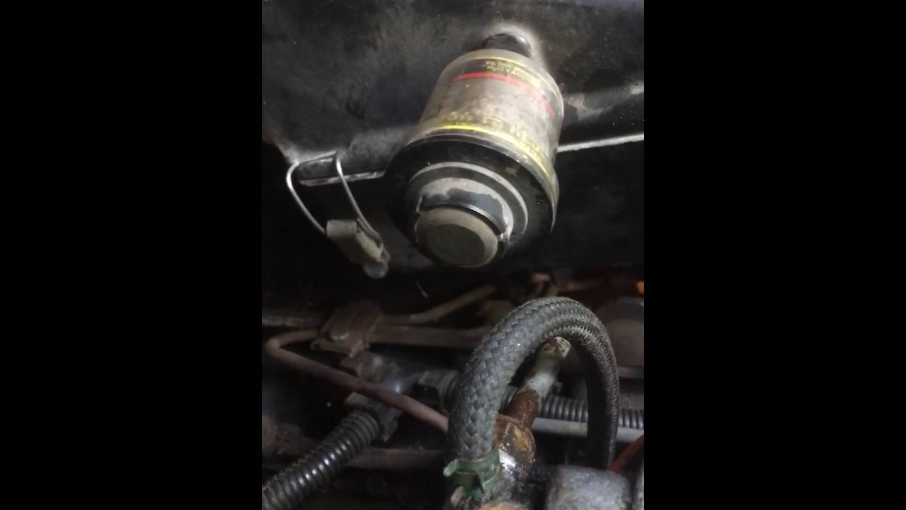 Start 1985 Ford F 250 Diesel Truck With Two Wires And No Key Youtube 73 Wiring