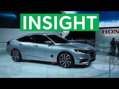 2018 Detroit Auto Show 2019 Honda Insight Promises Big Fuel Economy Consumer Reports