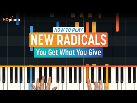 "How To Play ""You Get What You Give"" by New Radicals 