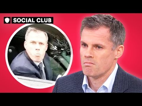 SHOULD CARRAGHER BE SACKED FOR SPITTING? | SOCIAL CLUB