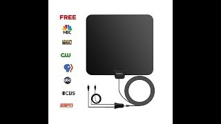 RV Stuff ~ 50 Mile Range HDTV Antenna Review