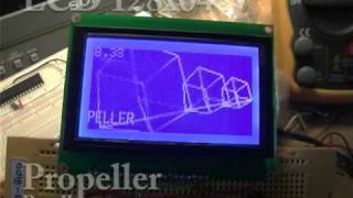 propeller and lcd 128x64