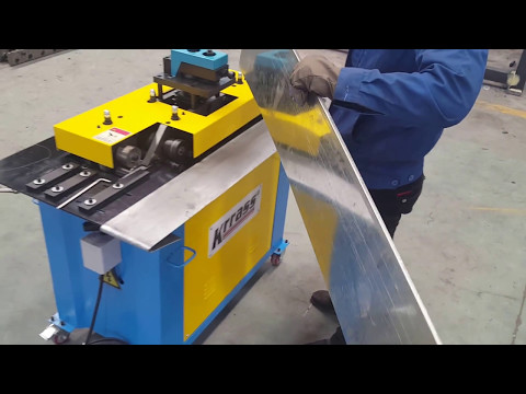 S Clip Lock Forming Machine | Pittsburgh Lockformer |SA-15HB Ductwork Pittsburgh Lock From KRRASS