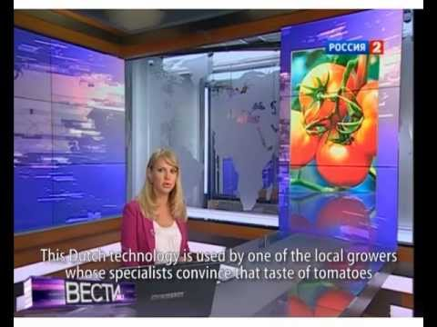 Philips Horti --Tomato Grower Uman in Russian News