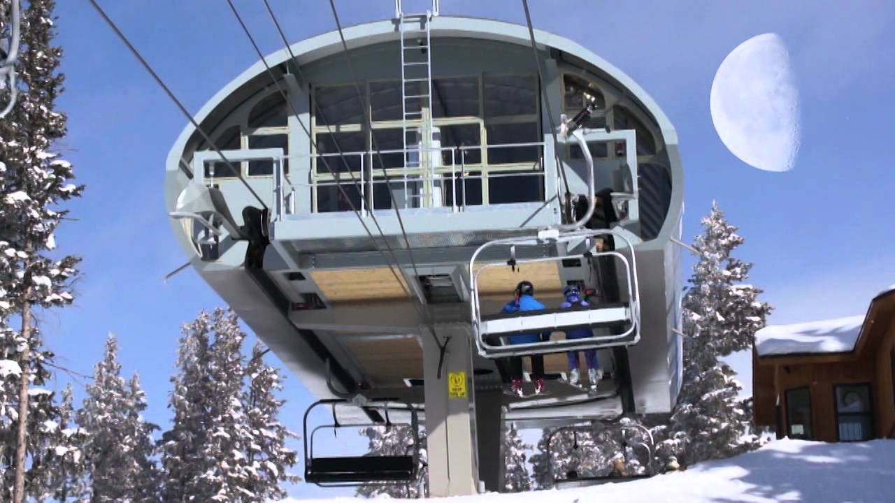 InFilms U0026 Design Presents: Leitner Poma Of America   New High Speed Chair  Lift 5 At Vail, Colorado   YouTube