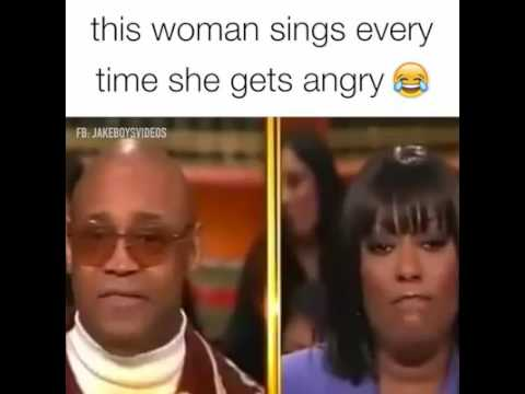 (FUNNY) THIS IS WOMAN SINGS EVERYTIME SHE GETS ANGRY