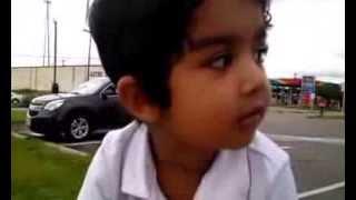 21/2 year old Singing Vaangana Vanakangana Song from Thalaiva