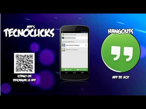 Hangouts | Chatea Y Haz Videollamadas Gratis!!