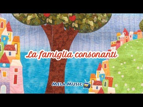 CANTIAMO LA GRAMMATICA - La famiglia consonanti - Canzoni per bambini di Mela Music