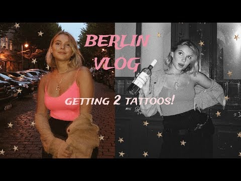 I GOT 2 NEW TATTOOS IN BERLIN +JEWELLERY HAUL!! BACKPACKING VLOG #7 thumbnail