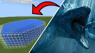 How To Make a MOSASAURUS Farm in Minecraft PE | MCPE Journalist