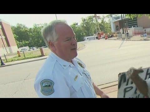 Ferguson police chief: I'm focusing on the job