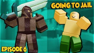 NOOB TO PRO *GOING TO JAIL* IN DUNGEON QUEST ROBLOX