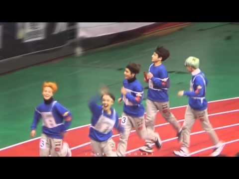 160118 아육대 방탄소년단 400m 계주 풀버젼!