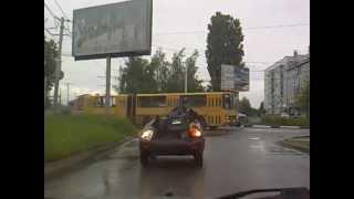 Lada - самый неубиваемый автомобиль! Прикольное видео