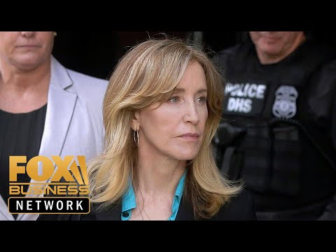 Actress Felicity Huffman could face up to 10 months in prison