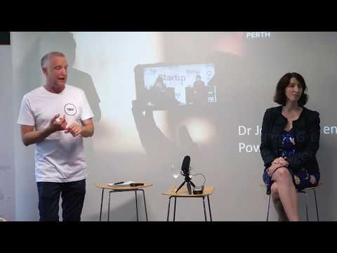 Startup Grind Perth Hosts Jemma Green Power Ledger Febuary 2018