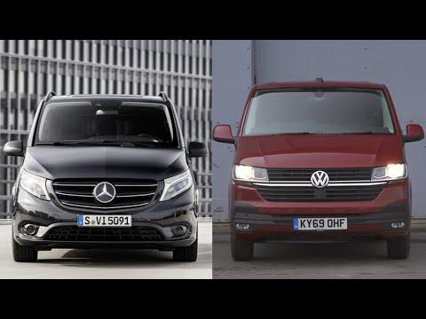 Mercedes Vito 2020 Vs VW Transporter 2020. Лучшие минивэны Европы.
